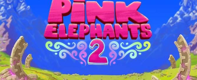 Pink Elephants 2 Slot Logo