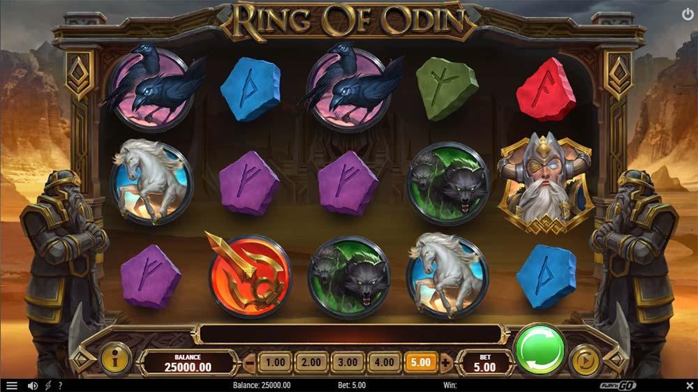 Ring of Odin Slot - Base Game
