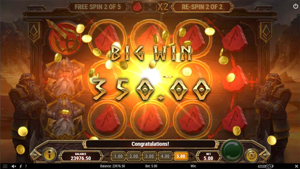 Ring of Odin Slot - Big Win