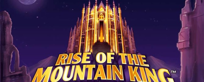 Rise of the Mountain King Slot Logo