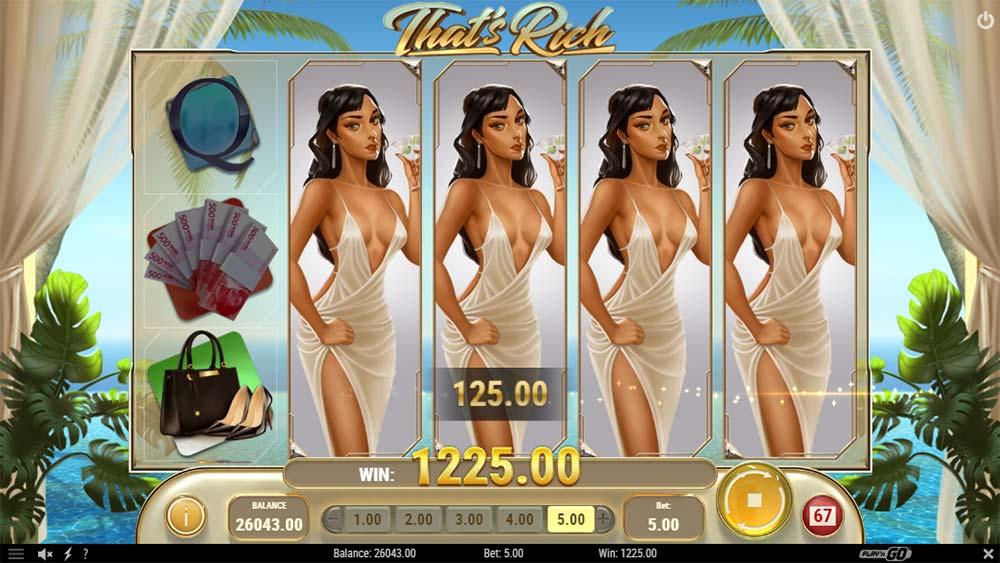 That's Rich Slot - Expanding Wild Reels