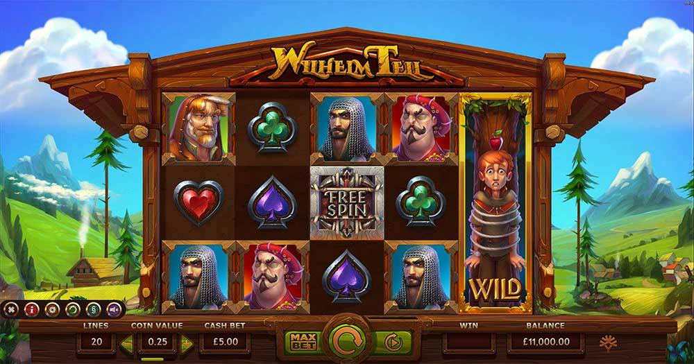 Wilhelm Tell Slot - Base Game