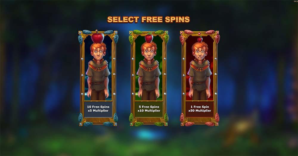 Wilhelm Tell Slot - Free Spins Options