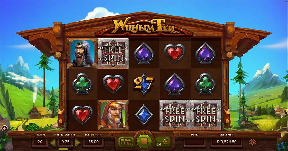 Wilhelm Tell Slot - Bonus Triggered