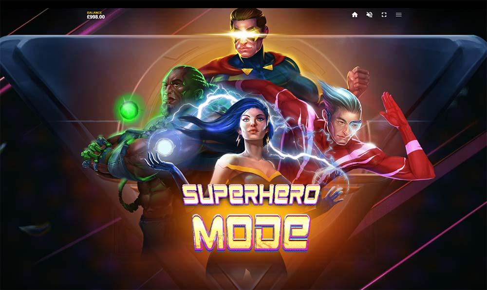 4 Squad Slot - Superhero Mode Triggered