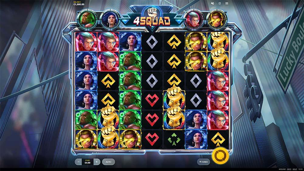 4 Squad Slot - Base Game