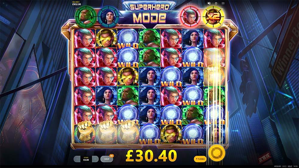 4 Squad Slot - Superhero Mode