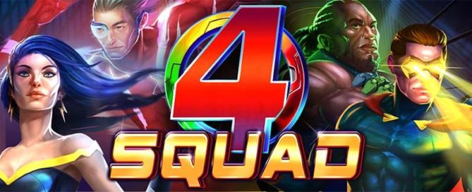 4 Squad Slot Logo
