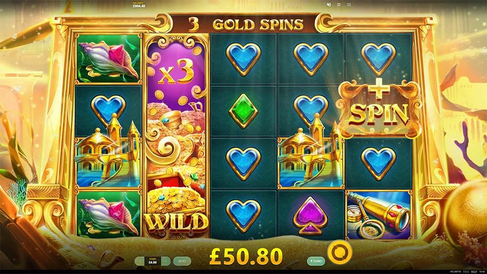 Atlantis Slot - Free Spins