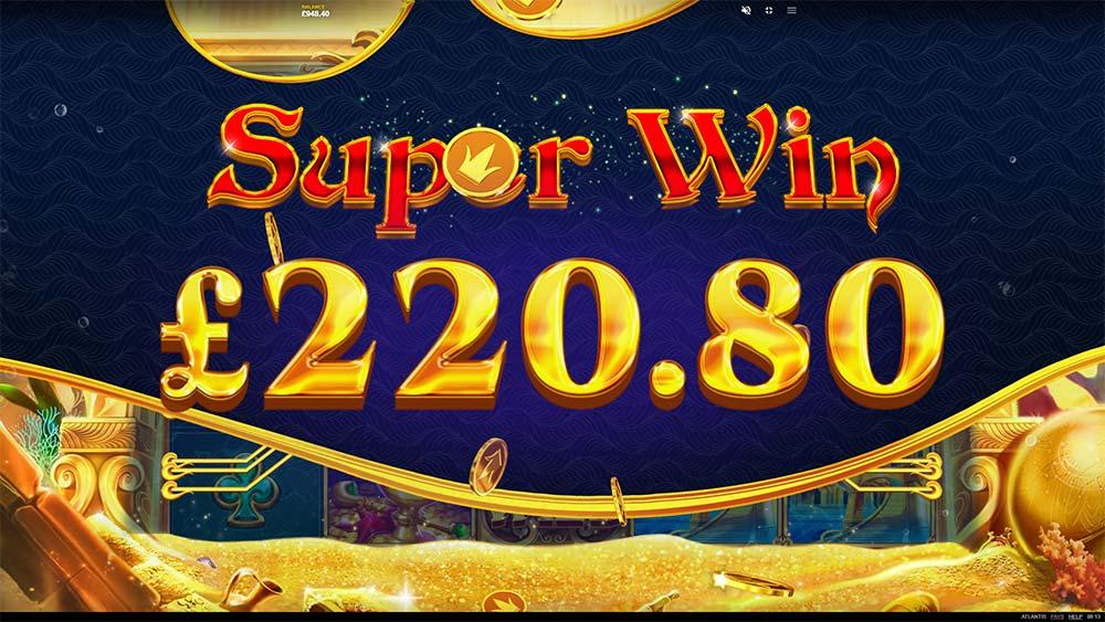 Atlantis Slot - Super Win