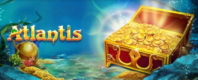 Atlantis Slot Logo