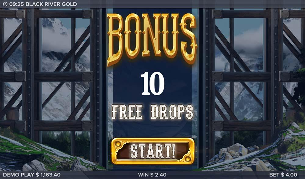 Black River Gold Slot - Free Spins