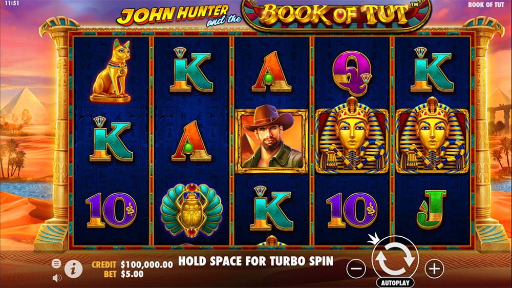 Book of Tut Slot - Base Game