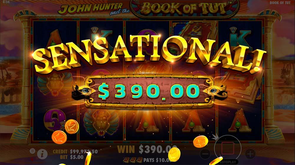 Book of Tut Slot - Sensational Win