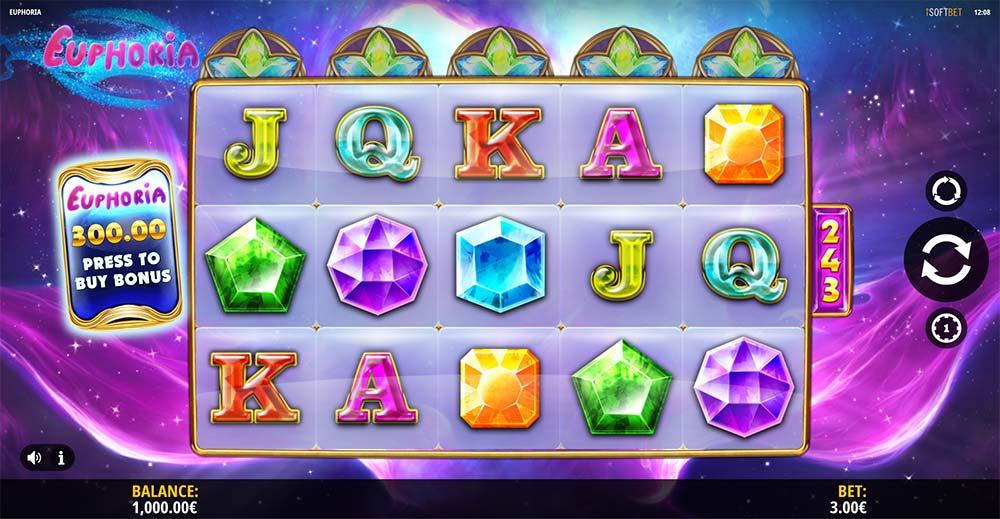 Euphoria Slot - Base Game