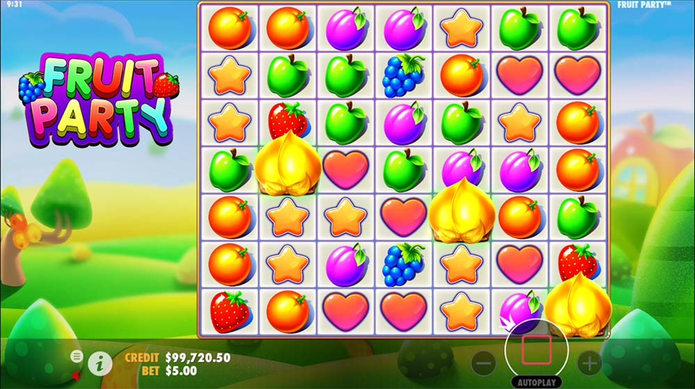 Fruit Party Slot - Bonus Trigger
