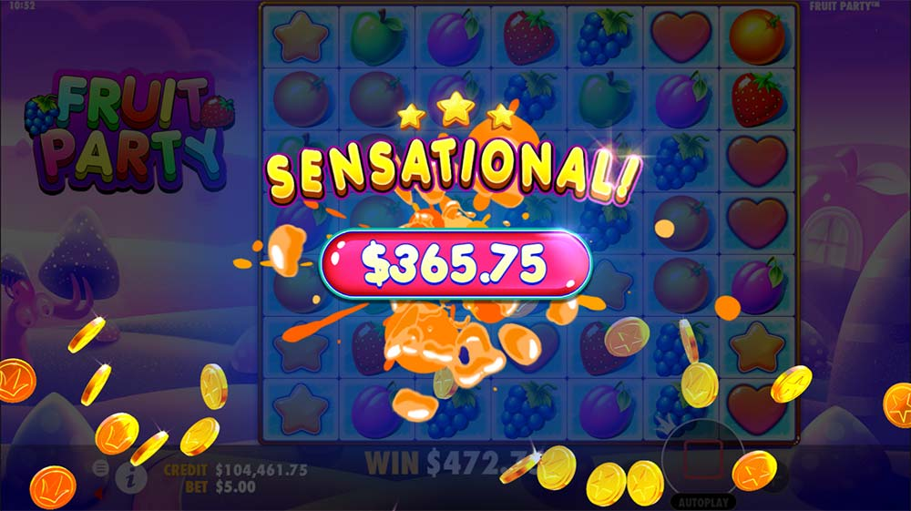Fruit Party Slot - Sensational Win