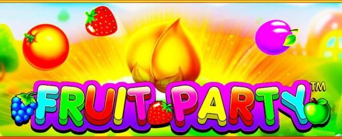 Fruit Party Slot Logo