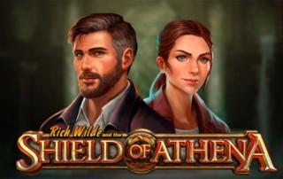 Shield of Athena Slot Logo