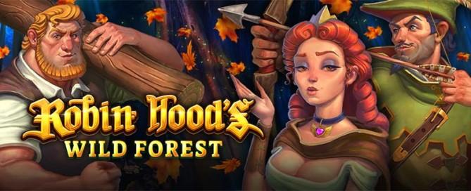 Robin Hoods Wild Forest Slot Logo