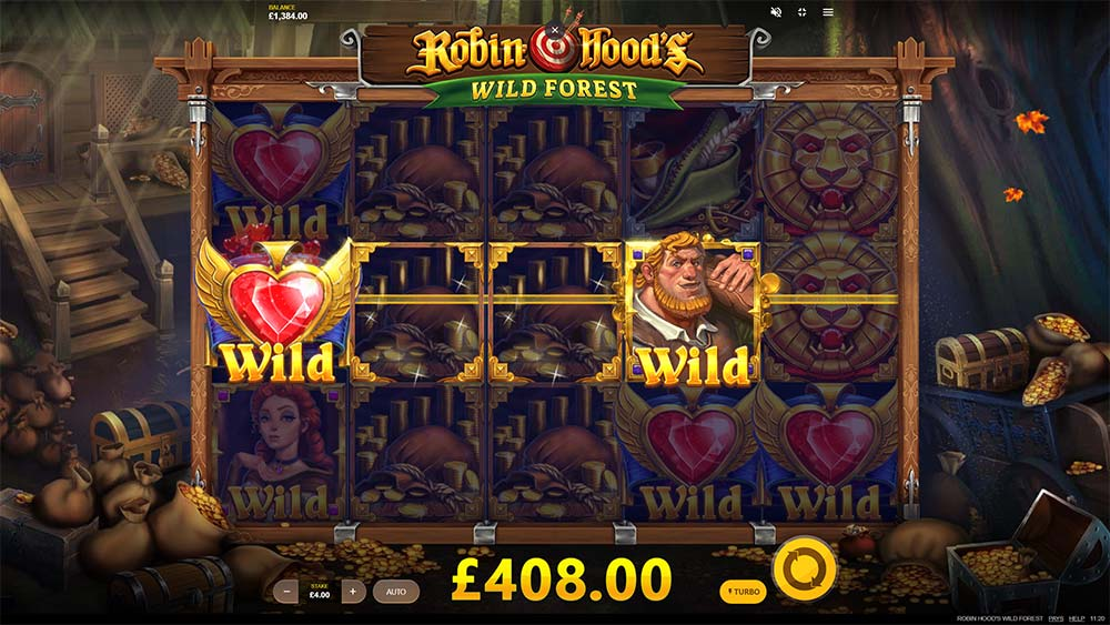 Robin Hoods Wild Forest Slot - 2 Features