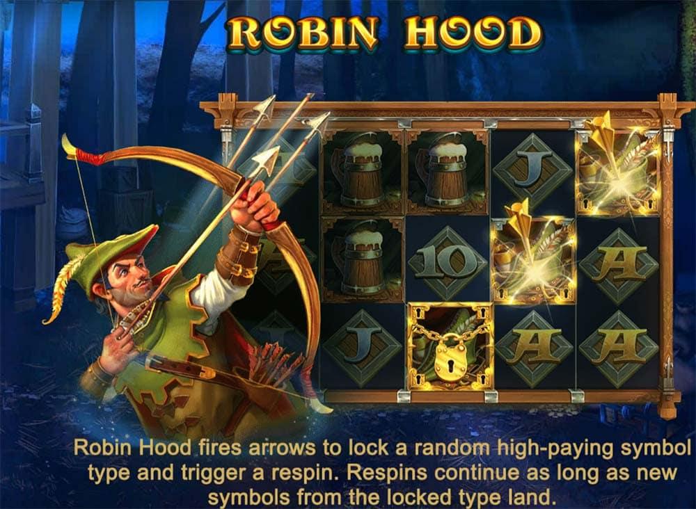 Robin Hoods Wild Forest Slot -Robin Hood Feature