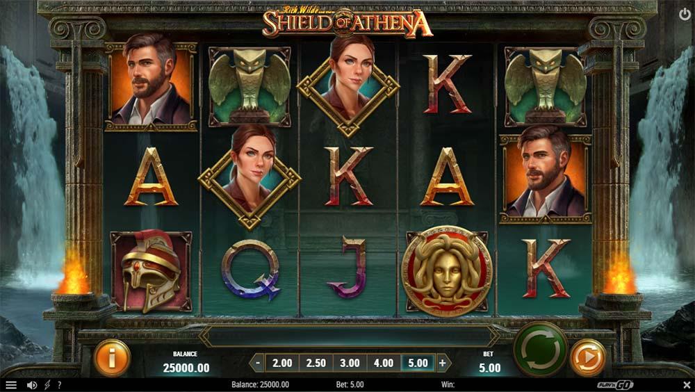 Shield of Athena Slot - Base Game