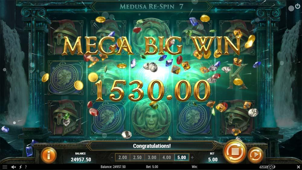 Shield of Athena Slot - Mega Big Win