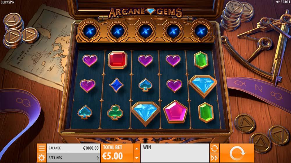 Arcane Gems Slot - Base Game