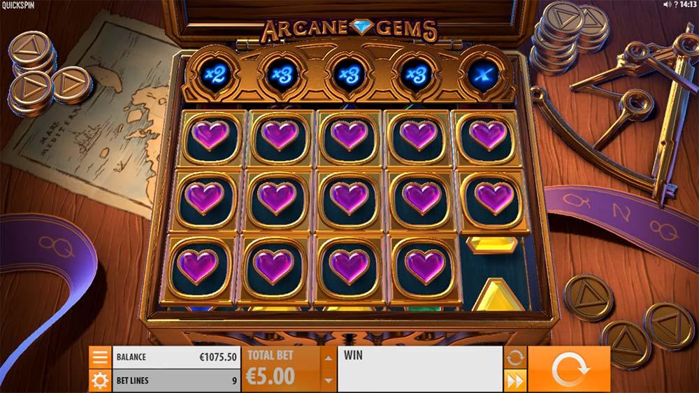 Arcane Gems Slot - Locked Symbols