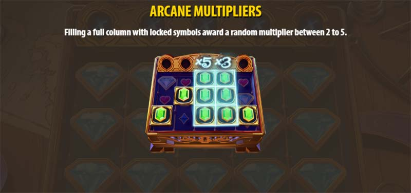Arcane Gems Slot - Arcane Multipliers
