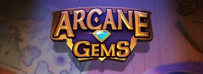 Arcane Gems Slot Logo