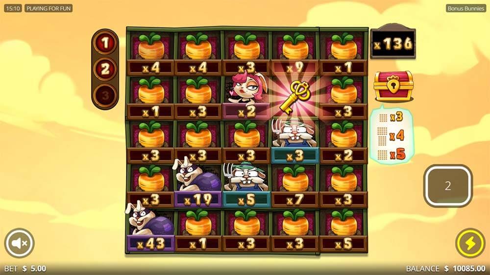 Bonus Bunnies Slot - Huge Win 5x Multiplier