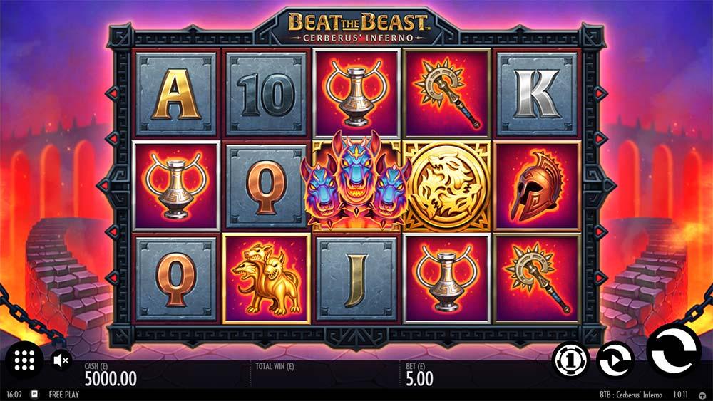 Beat the Beast Cerberus Inferno Slot - Base Game