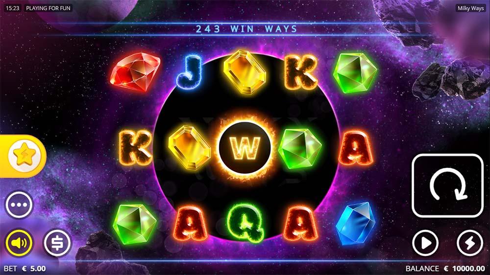 Milky Ways Slot - Base Game