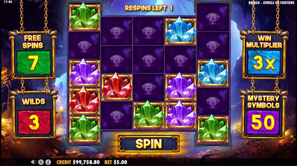 Drago Jewels of Fortune Slot - Main Bonus Feature