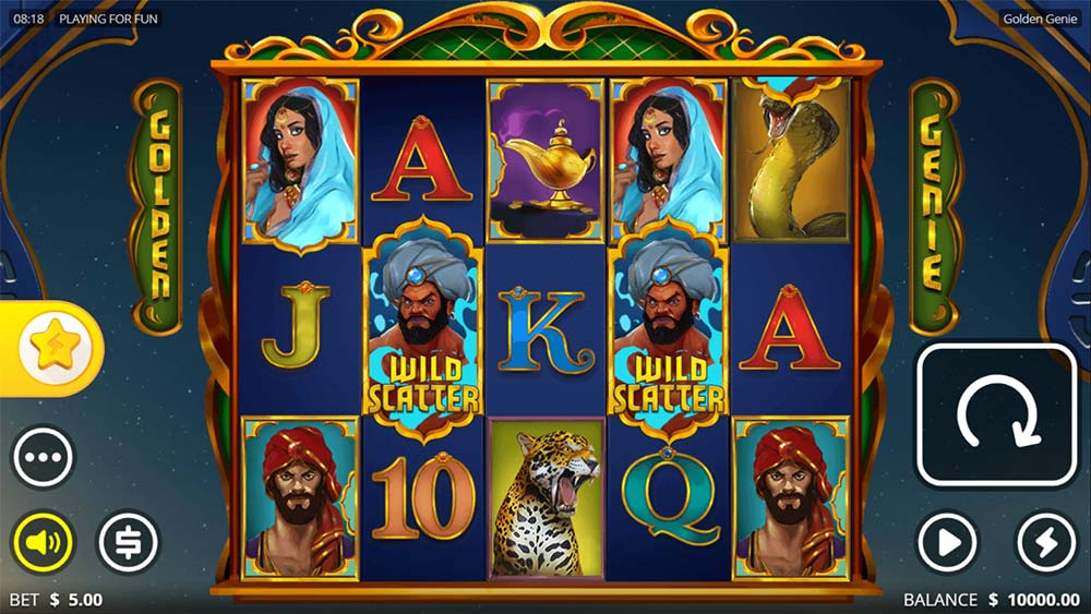 Golden Genie Slot - Base Game