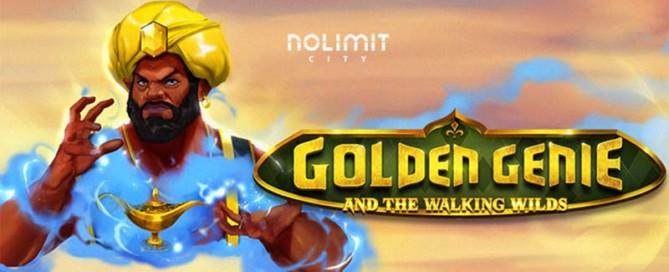 Golden Genie Slot Logo