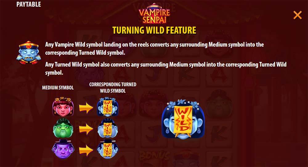 Vampire Senpai Slot - Turning Wild