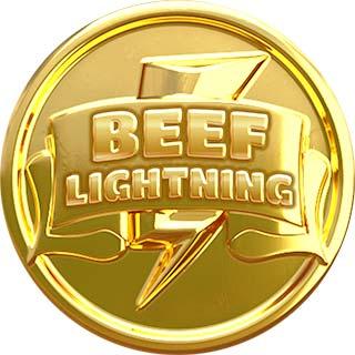 Beef Lightning Megaways Bonus Coin Symbol