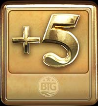 Megapays Slot - +5 Symbol