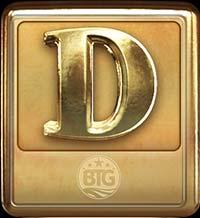 Megapays Slot - D Symbol