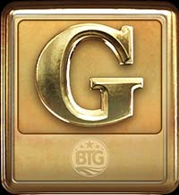 Megapays Slot - G Symbol