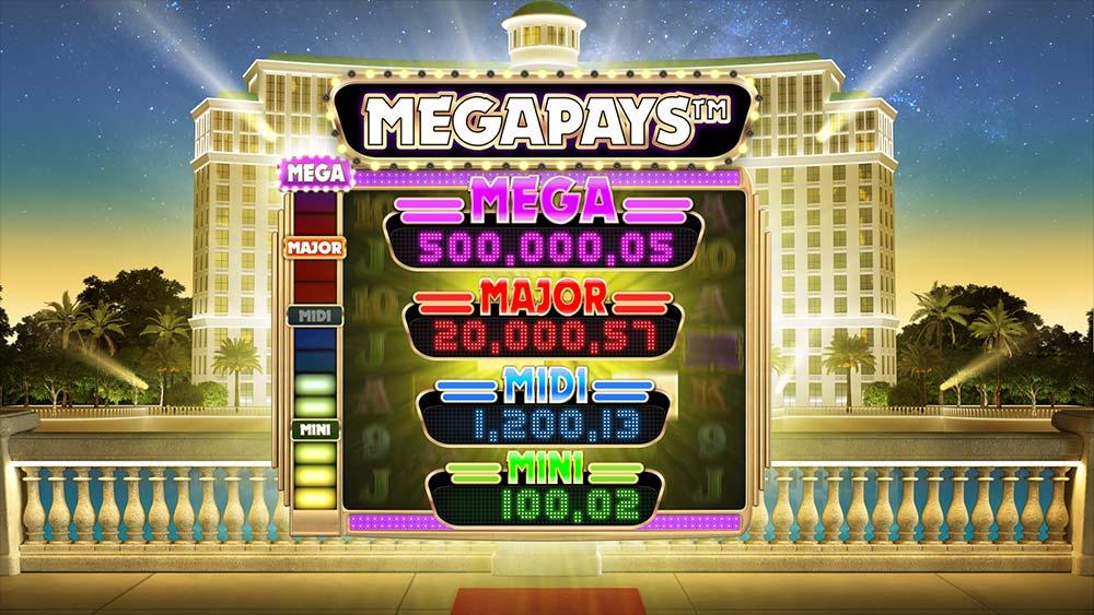 Megapays Jackpot Feature