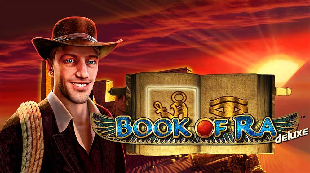 Book of Ra Deluxe Slot Logo