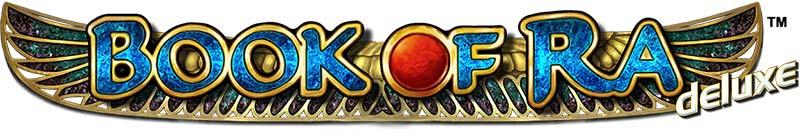 Book of Ra Deluxe Slot Text Logo