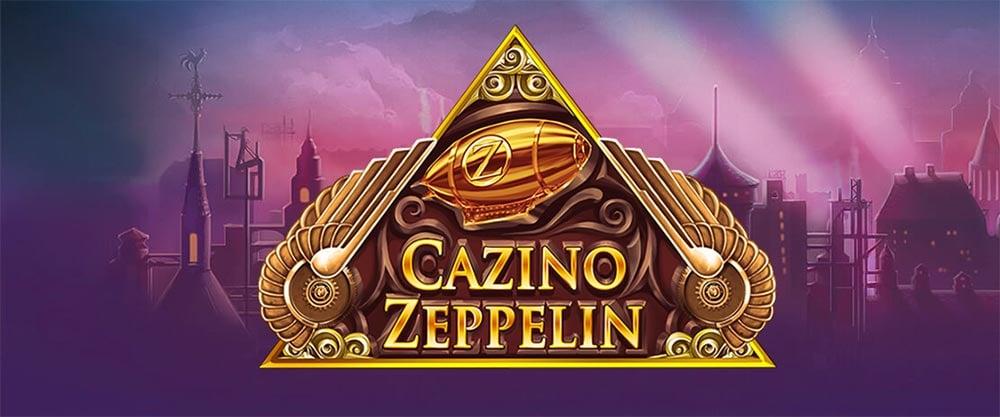 Cazino Zeppelin Slot Logo