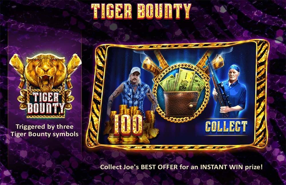 Joe Exotic Slot - Tiger Bounty Feature
