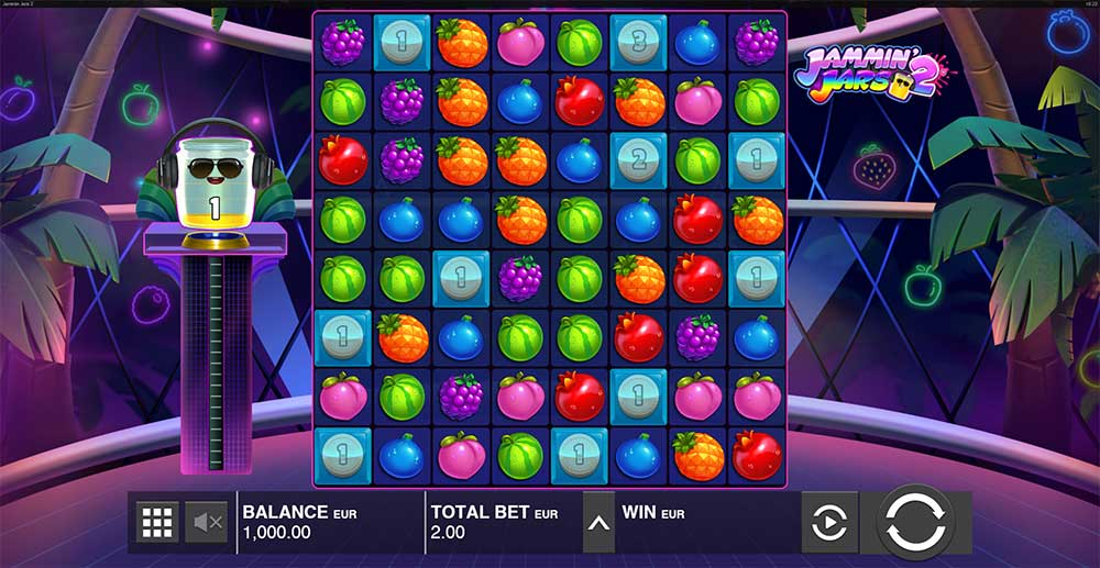 Jammin Jars 2 Slot Base Game