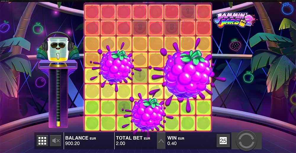 Jammin Jars 2 Slot Fruit Blast Feature